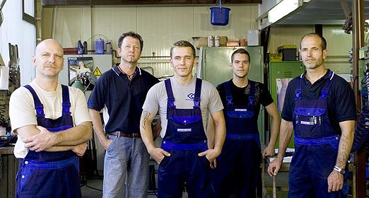 Das Faszination Metall-Team